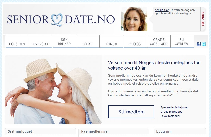 seniordate gratis dating but no sex